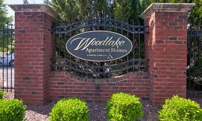 Community Signage, Woodlake Apartments, 2