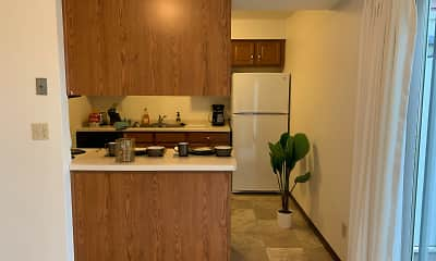 Kitchen, Park Place Apartments, 2