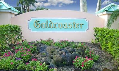 Community Signage, Goldcoaster, 2