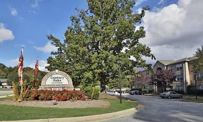 Community Signage, Century Oaks Apartments, 2