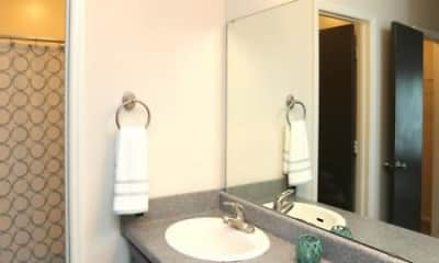 Bathroom, The Willow Apartments, 1