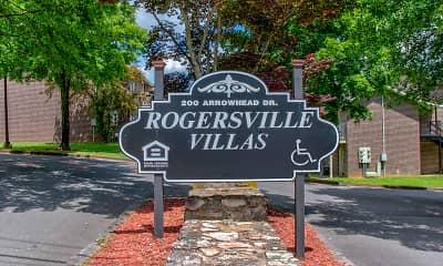Community Signage, Rogersville Villas, 2