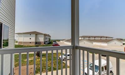 Patio / Deck, Prairie Heights Apartments, 2