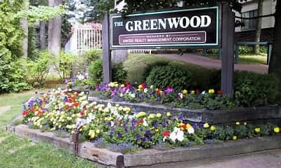 Community Signage, Greenwood Apartments, 0