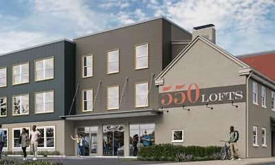 Building, 550 Lofts, 1