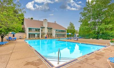 Pool, Belmont Ridge Apartments, 0