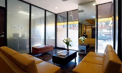 Living Room, Iris Apartments, 2
