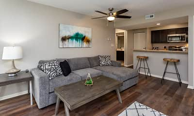 Living Room, Winwood Apartments, 1