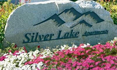 Community Signage, Silver Lake, 2