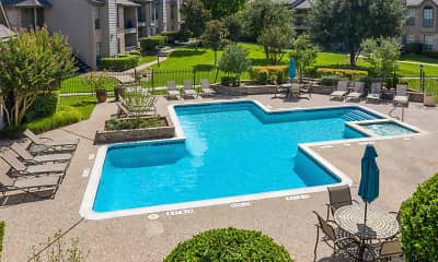 Pool, Chappell Hill Apartments, 1