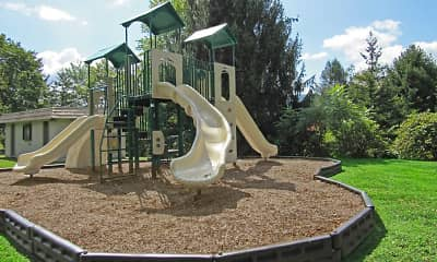 Playground, Woodland Park Apartments, 2