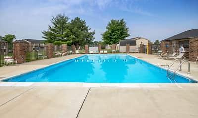 Pool, Thompson Village Apartments, 2