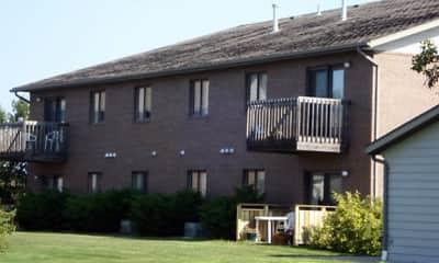 Building, M&I Apartments, 2