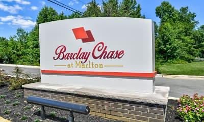 Community Signage, Barclay Chase at Marlton, 2