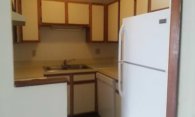 Kitchen, Mission Forest Apartments, 1