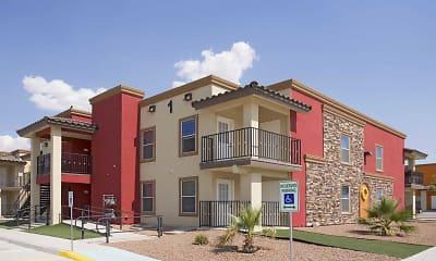 Building, Los Balcones Apartments, 0