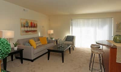 Living Room, Stone Ridge Apartments and Townhomes, 0