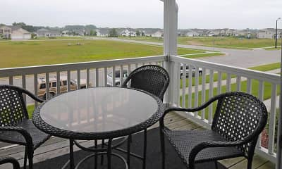 Patio / Deck, Waters Edge Apartments, 2
