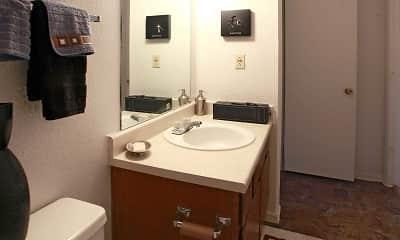 Bathroom, Cobblestone, 2