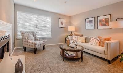 Living Room, Pinehurst Place Apartments, 1
