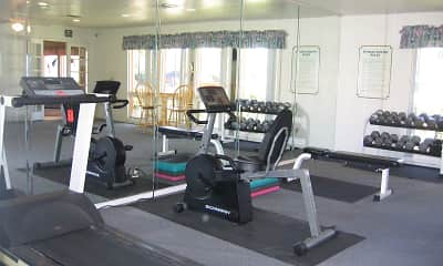 Fitness Weight Room, Tides on 50th, 0