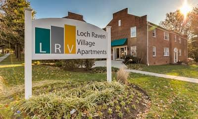 Community Signage, Loch Raven Village Apartments, 0