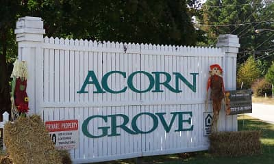 Community Signage, Acorn Grove, 2