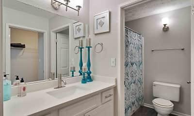 Bathroom, Glen Lake, 2