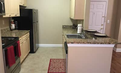 Kitchen, North Pointe Apartments, 2