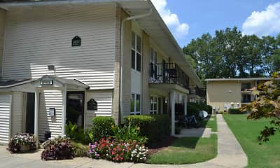 Building, Spanish Trace Apartments, 0