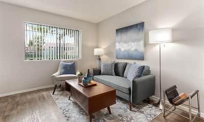 Living Room, Del Mar Terrace, 0