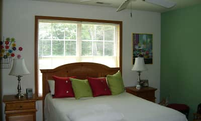 Bedroom, The Woods Apartments, 2