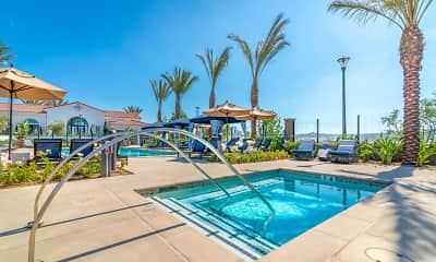 Pool, Montecito Apartments at Carlsbad, 1