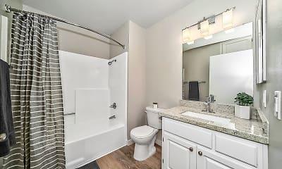 Bathroom, The Galleria Apartment Homes, 1