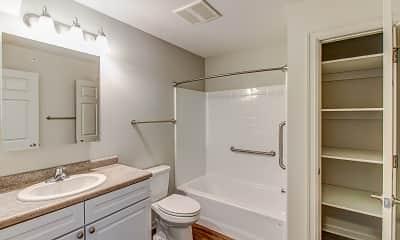 Bathroom, Fountain Springs Apartments, 2