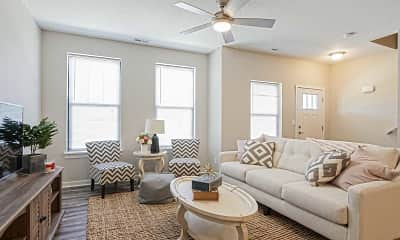 Living Room, The Cove At Prairie Trail, 1