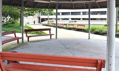 Courtyard, Alvin E Gershen Apartments, 1