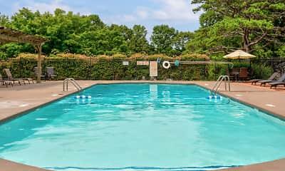 Pool, Foxcroft Apartments, 1