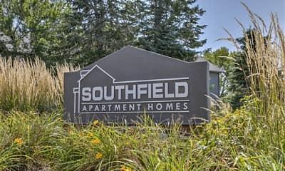 Community Signage, Southfield, 2