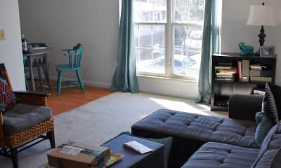 Living Room, Campus Walk, 0