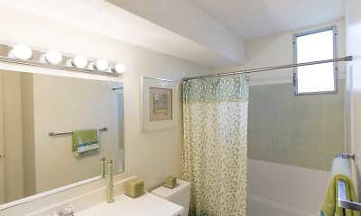 Bathroom, Moanalua Hillside Apartments, 2