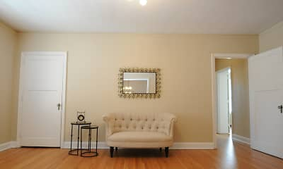 sitting room featuring hardwood flooring, Lindsay 414 Apartments, 0