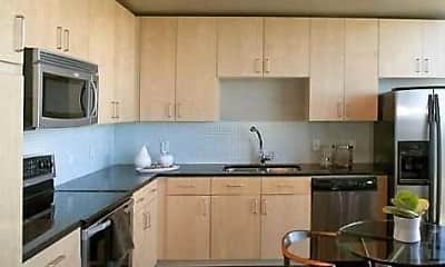 Kitchen, Apartments at the Medical Center, 1