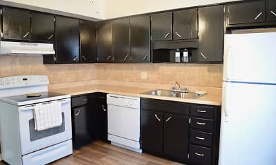 Kitchen, Mayfair Apartments, 0