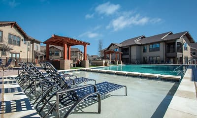 Pool, Creekside Townhomes, 0
