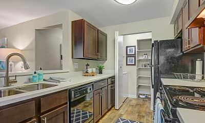 Kitchen, Cascade Ridge, 1