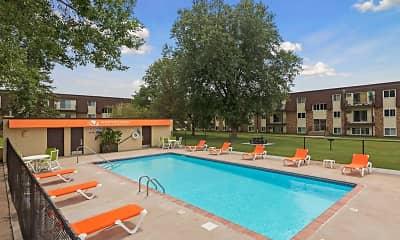 Pool, Northtown Village, 0