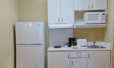 Kitchen, Furnished Studio - Wilkes-Barre - Hwy. 315, 1