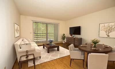 Living Room, Poplar Bridge, 1