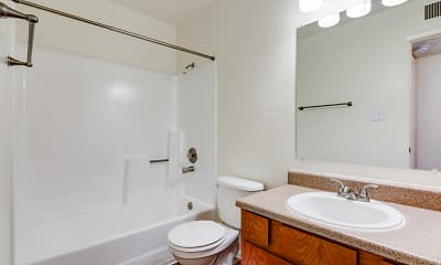 Bathroom, The Standard East, 2